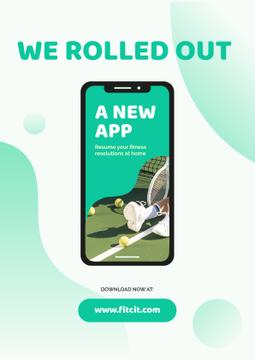 New Fitness App Ad