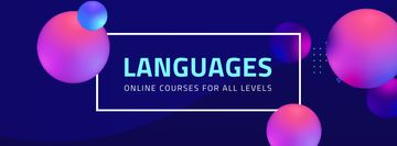Online Languages Courses Ad
