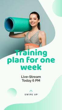 Live Stream about Yoga training plan