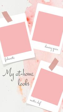 At-home looks ideas on Snapshots in pink