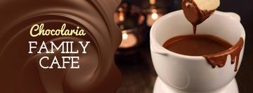 Hot chocolate Fondue dish