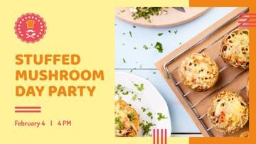 Stuffed Mushroom dish for Party