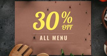 Menu Offer with Condiments