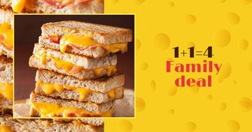 Grilled Cheese dish offer
