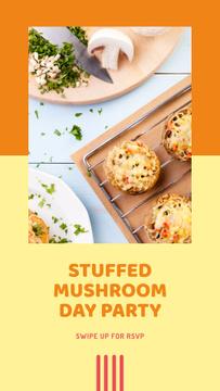 Stuffed Mushroom Day Celebration