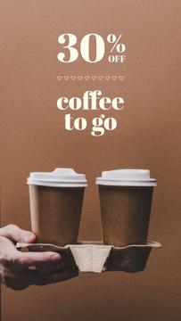 Coffee to go Special Discount Offer