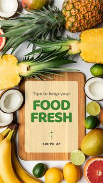 Tips to keep Food fresh