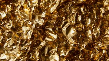 Shiny Golden Foil