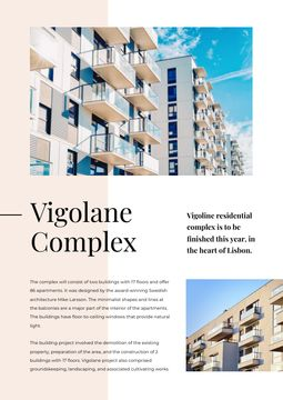 Living Complex Ad with Modern House