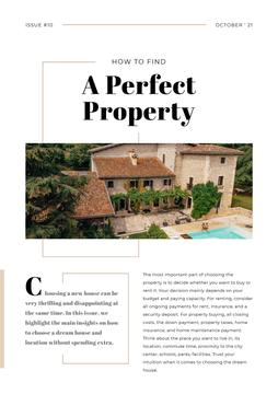 How to find Perfect Property Article with House Design