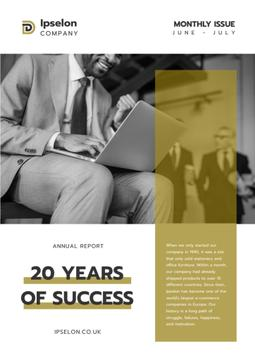 Annual Report about Business Success