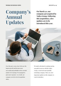 Company Annual Updates