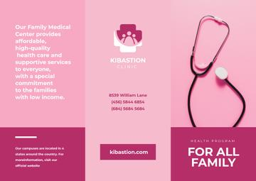 Family Medical Center Services Ad in Pink