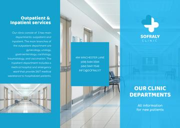 Clinic Services Brochure Ad
