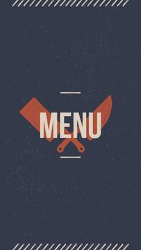 Meat and Fish restaurant menu icons