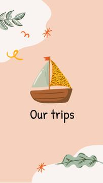 Travel agency icons and Summer inspiration