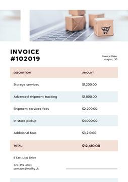 Shipment company services Cost