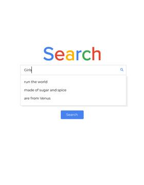 Colourful Search query
