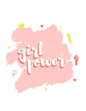 Girl Power inscription