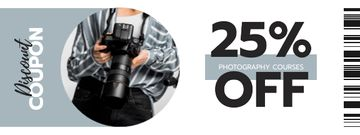 Photography Courses offer with Man using Camera