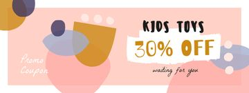 Kids Toys Discount with Funny Blots
