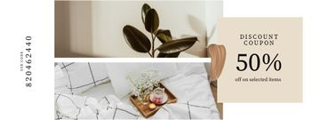 Home Items offer with cozy Interior