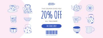 Discount Offer on Tableware