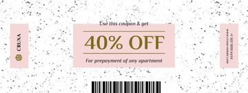 Discount Offer on Prepayment of Apartment