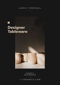 Ceramic Tableware supply offer