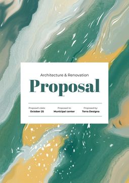 Architecture Agency projects on abstract pattern