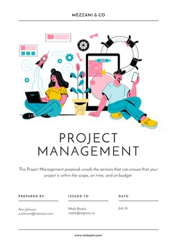 Business project managing offer