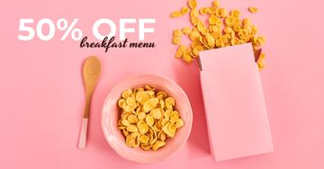 Cafe Offer Healthy Breakfast with Cereals