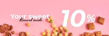 Cereals Offer in pink