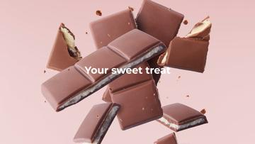 Sweet Chocolate pieces
