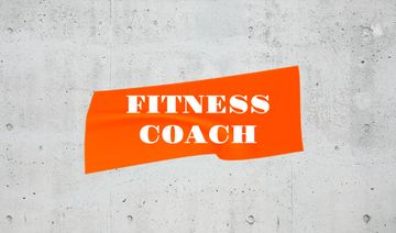 Fitness Coach services ad