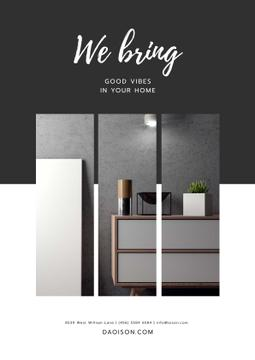 Furniture Store ad in grey