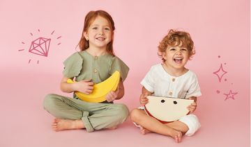 Happy Kids for clothes store ad