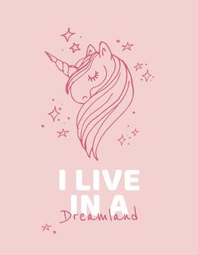 Childhood Dreams inspiration with Unicorn
