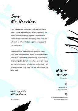 Professional designer motivation letter