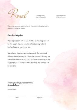 Fragrance Seller contract agreement