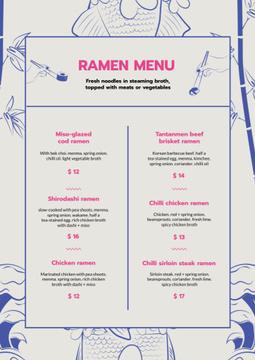 Ramen restaurant noodles