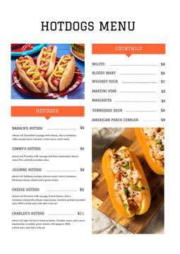 Delicious Hotdogs variety