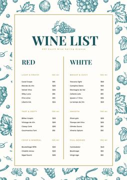 Wine Bar drinks