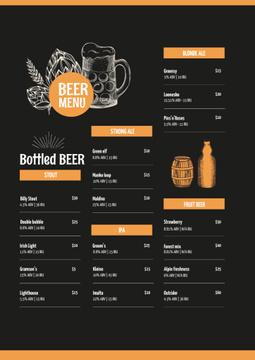 Beer variety offer