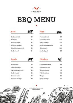 BBQ dishes list