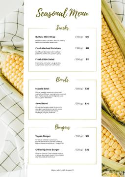 Seasonal Summer dishes