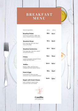 Cafe Breakfast offer
