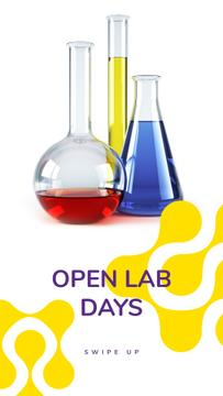 Laboratory Equipment Glass Flasks