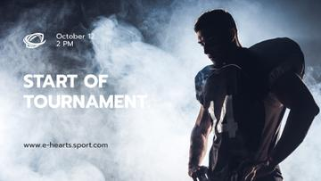Stream Ad with Man in Sports Uniform