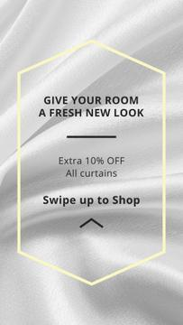 Home Textiles offer on White Silk